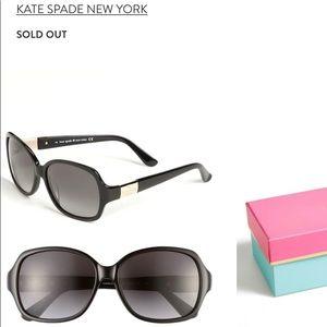 Kate Spade Black Carmel sunnies